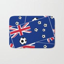 Australian Flag Football Bath Mat