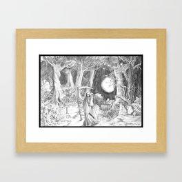 The Death Framed Art Print