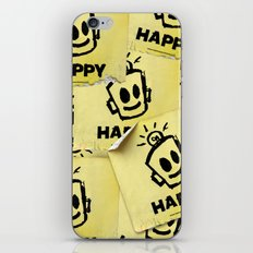 The Happy Sticker iPhone & iPod Skin