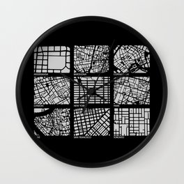 Architecture Urbanism  Wall Clock
