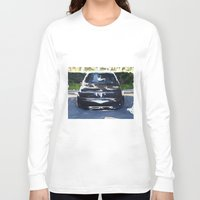 bmw Long Sleeve T-shirts featuring BMW E30 by Another Coat