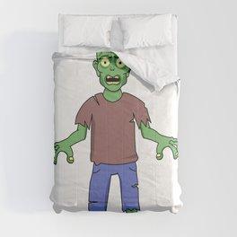 Scared Zombie Comforters