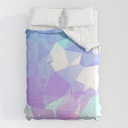 Ice cream crystals Comforters