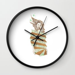Fashion Vignette June 2016 Wall Clock