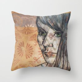 Pattern 2 Throw Pillow