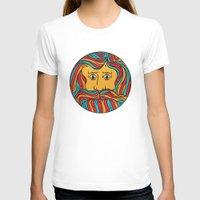 circle T-shirts featuring Circle by Brad Hansen