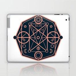 illustration of sacred geometry Laptop & iPad Skin