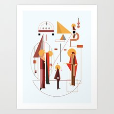 eisodos Art Print