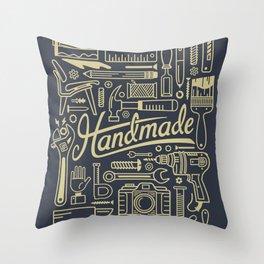 Make Handmade - Navy Throw Pillow