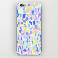 toddler iPhone & iPod Skins featuring Delight Pastel by Jacqueline Maldonado