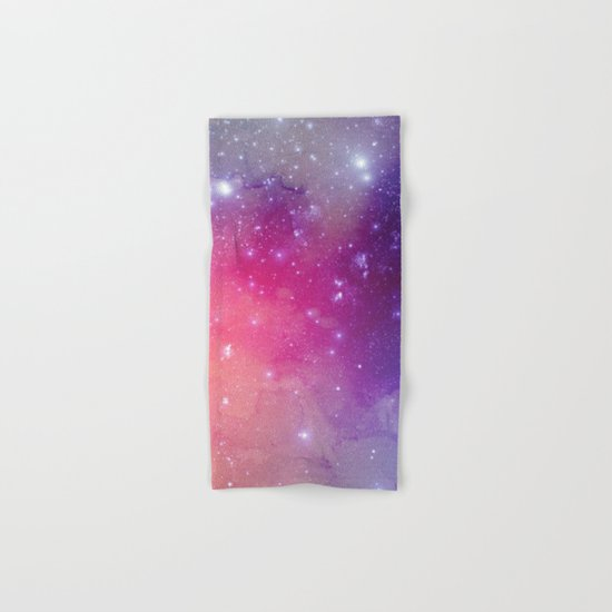 Watercolor Space #1 Hand & Bath Towel