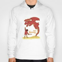 how to train your dragon Hoodies featuring How to Train your Smaug! by Loku