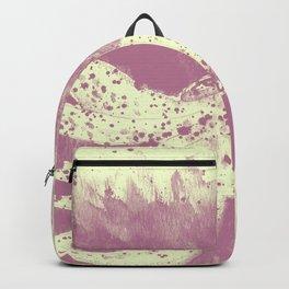 Purple squid ink Backpack
