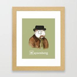 Haysenberg Breaking Bad Guinea Pig Framed Art Print