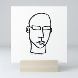 In my Head Mini Art Print
