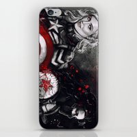 stucky iPhone & iPod Skins featuring Can You Love Me Again by Monika Gross