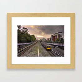 Exeter Central Pacer Framed Art Print