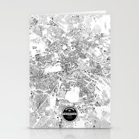 berlin Stationery Cards featuring BERLIN by Maps Factory
