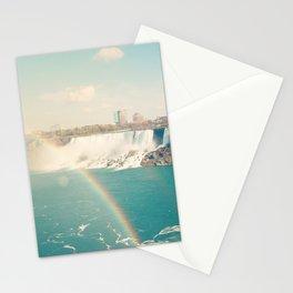 Niagara Falls - View of Buffalo, New York Stationery Cards