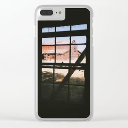Ghostly Perspective Clear iPhone Case