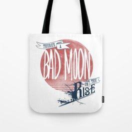 Bad Moon Rising - Supernatural  Tote Bag