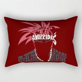 renji abarai bleach Rectangular Pillow