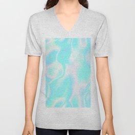 Pastel Hologram Unisex V-Neck