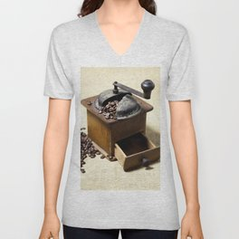 coffee grinder Unisex V-Neck