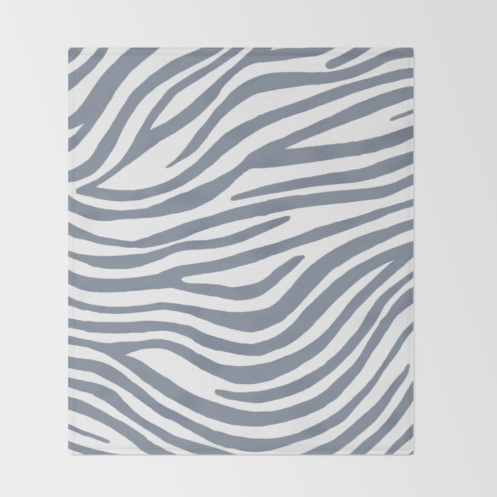Zebra  Throw Blanket
