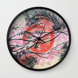 desviation3 Wall Clock