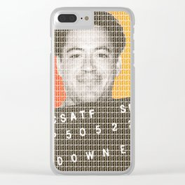 Robert Downey Jr Mug Shot Clear iPhone Case