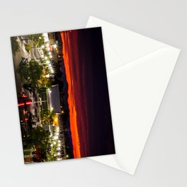 City scape /Medford OR Stationery Cards