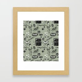 Forest Notes Framed Art Print