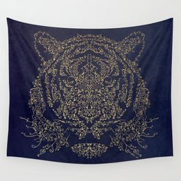Ornamental Tiger Wall Tapestry