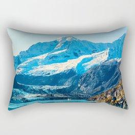 Alaska Glacier bay Rectangular Pillow
