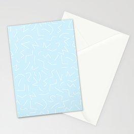 IZZY ((baby blue)) Stationery Cards