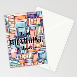 It's Not Hoarding if Its Books Stationery Cards