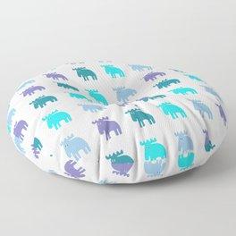 Scandinavian love Floor Pillow