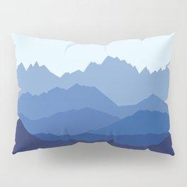 Blue Mountain range Pillow Sham