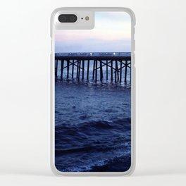Dark Malibu Clear iPhone Case