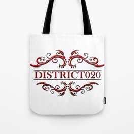 District020 logo red Tote Bag