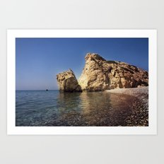 Aphrodite Beach Art Print