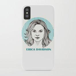 Wentworth | Erica Davidson iPhone Case