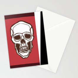 Mannequin of Death (red palette) Stationery Cards
