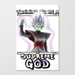 Training to be a - Supreme God Canvas Print