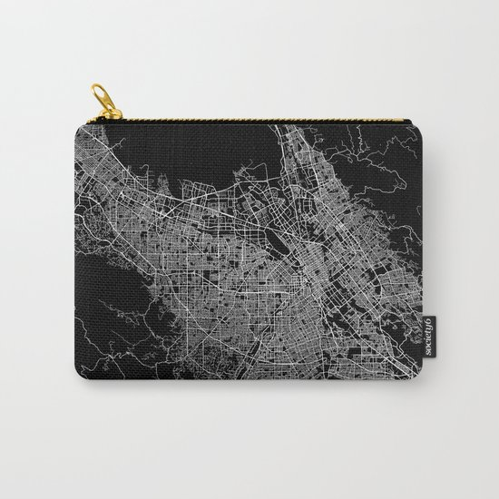 san jose map Carry-All Pouch