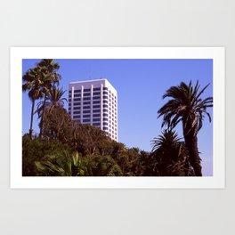 Santa Monica Afternoon Art Print