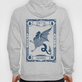 Year of the Cockatrice (Porcelain) Hoody