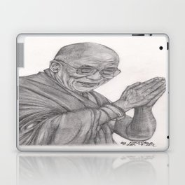 Dalai Lama Tenzin Gyatso Drawing Laptop & iPad Skin