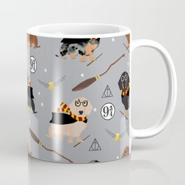 dachshund witch wizard magic wiener dog gifts Coffee Mug